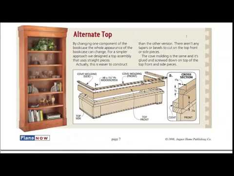 Bookcase Plans - How To Build A Bookcase - See The ...