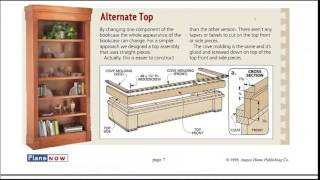 Bookcase Plans - How To Build A Bookcase - See The Detailed Plans And Blueprints Here