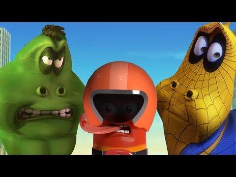 LARVA - SUPER HEROES COMPILATION | Larva | Cartoons For Children | Larva Cartoon | LARVA Official