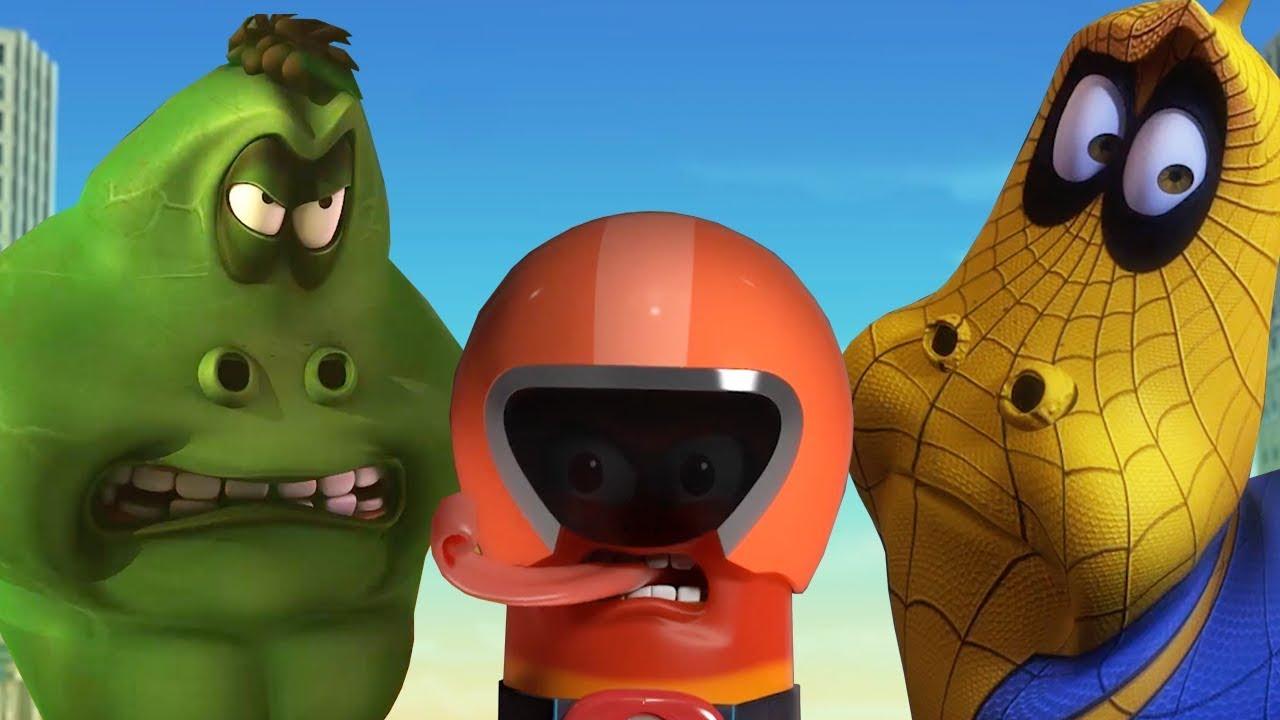 LARVA SUPER HEROES PILATION Larva Videos For Kids Larva Cartoon