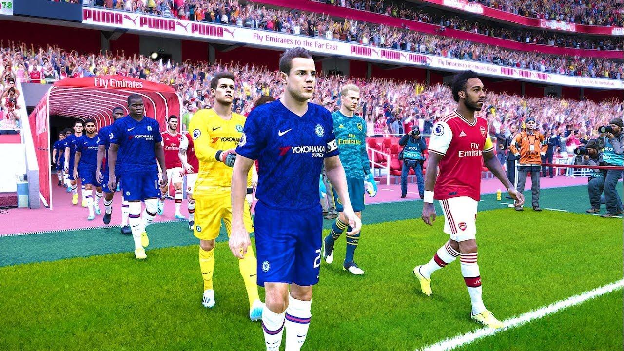Arsenal vs Chelsea - EPL 29 December 2019 Gameplay