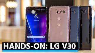 Hands-on: LG V30