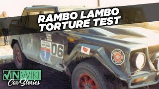 """The first US torture test of the LM002 """"Rambo Lambo"""""""