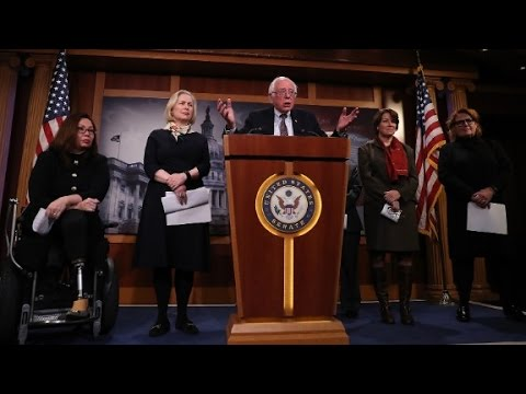 Sanders Urges Dems to Play Hardball on Health