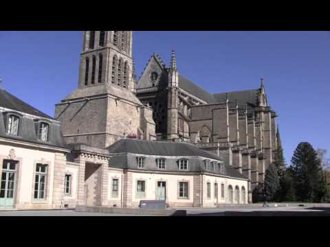 Views Around Limoges, Haute-Vienne, Limousin, France - October, 2015