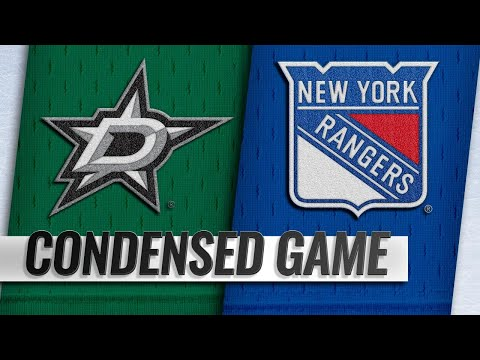 11/19/18 Condensed Game: Stars @ Rangers
