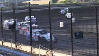 USMTS @ Noble County Speedway Hunt Race#9 Heat #1   8-19-2012