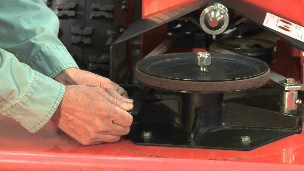 Change the Belt on the DR Field and Brush Mower  YouTube