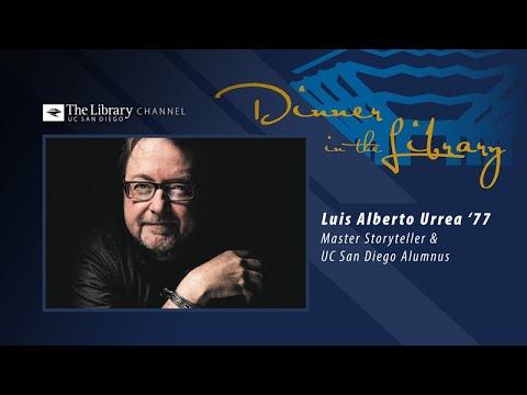Luis Alberto Urrea - Dinner in the Library
