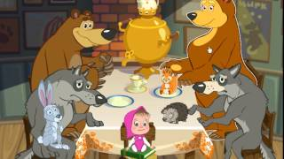 Masha and The Bear Hiccup Memory Game for children - Маша и Медведь - Дышите! Не дышите! игра