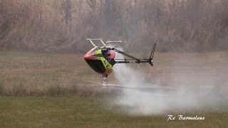 Вертолёты на радиоуправлении Old school Heli-fest