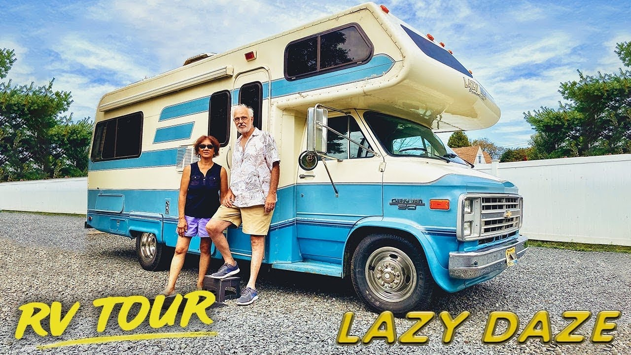 CLASSIC CAMPER TOUR   18's Retro Class C Motorhome RV   Lazy Daze