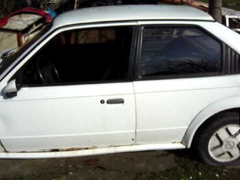 opel kadett d gte astra mk 1 gte youtube. Black Bedroom Furniture Sets. Home Design Ideas