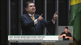 Deputado Mauro Filho se opõe á proposta de reforma da previdência comentada em Brasília