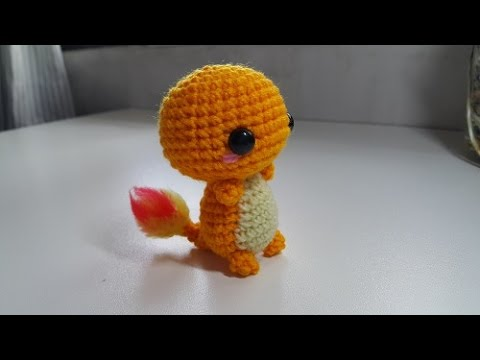 Amigurumi Crochet Charmander Tutorial - YouTube