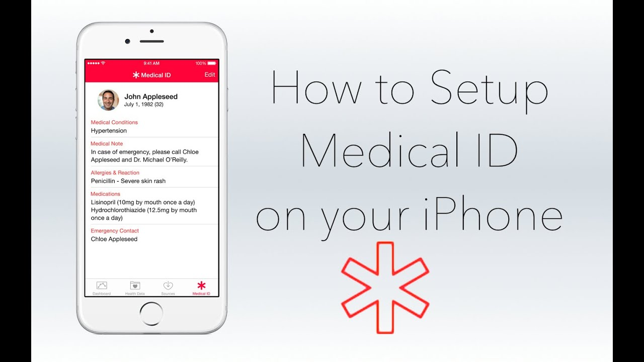 Image result for iphone medical id