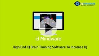 i3 Mindware Brain Training App
