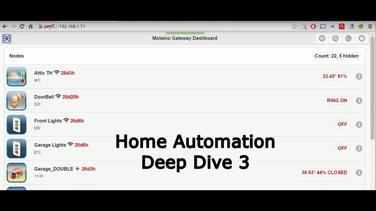 home automation gateway setup and node test youtube. Black Bedroom Furniture Sets. Home Design Ideas
