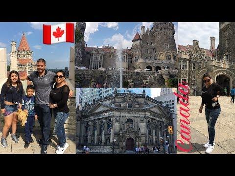 VLOG / DIA #3 EN TORONTO CANADA FUIMOS A CASA LOMA Y DOWNTOWN 🇨🇦