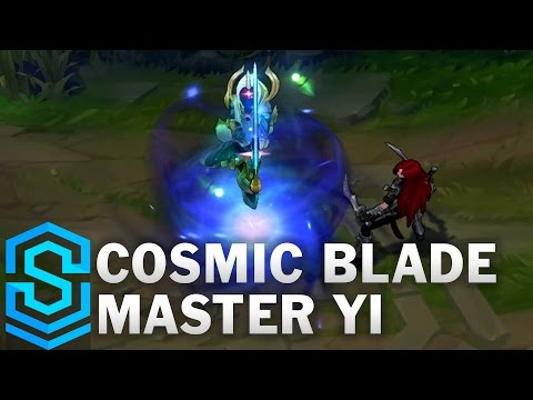 Cosmic Blade Master Yi Skin Spotlight - League of Legends