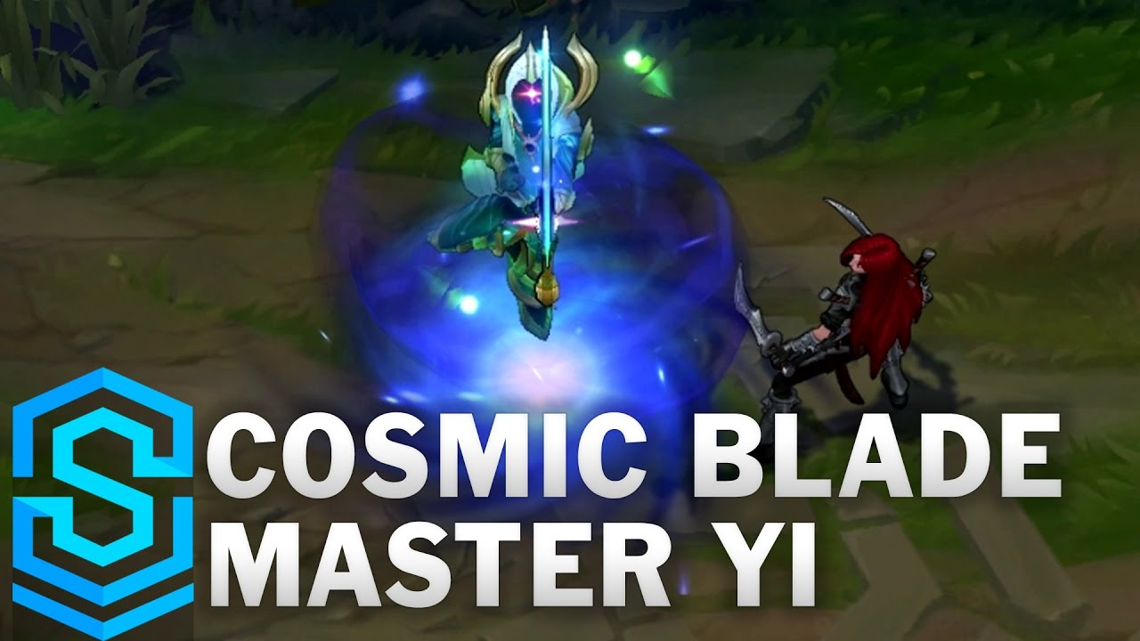 Cosmic Blade Master Yi Skin Spotlight - League of Legends