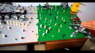 Lego Star Wars Rube Goldberg Machine