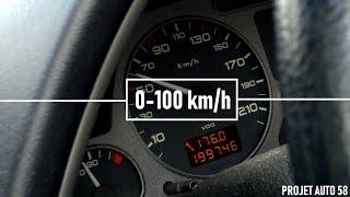 Peugeot 306 HDI 90 : 0-100 km/h