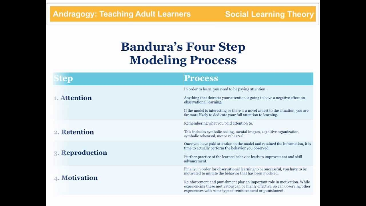 bandura social learning theory youtube