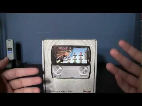 Sony Ericsson Xperia Play Unboxing (Verizon)