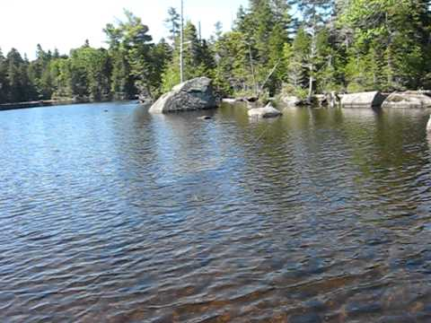 Lily bay moosehead lake smallmouth evans bennett youtube for Maine out of state fishing license