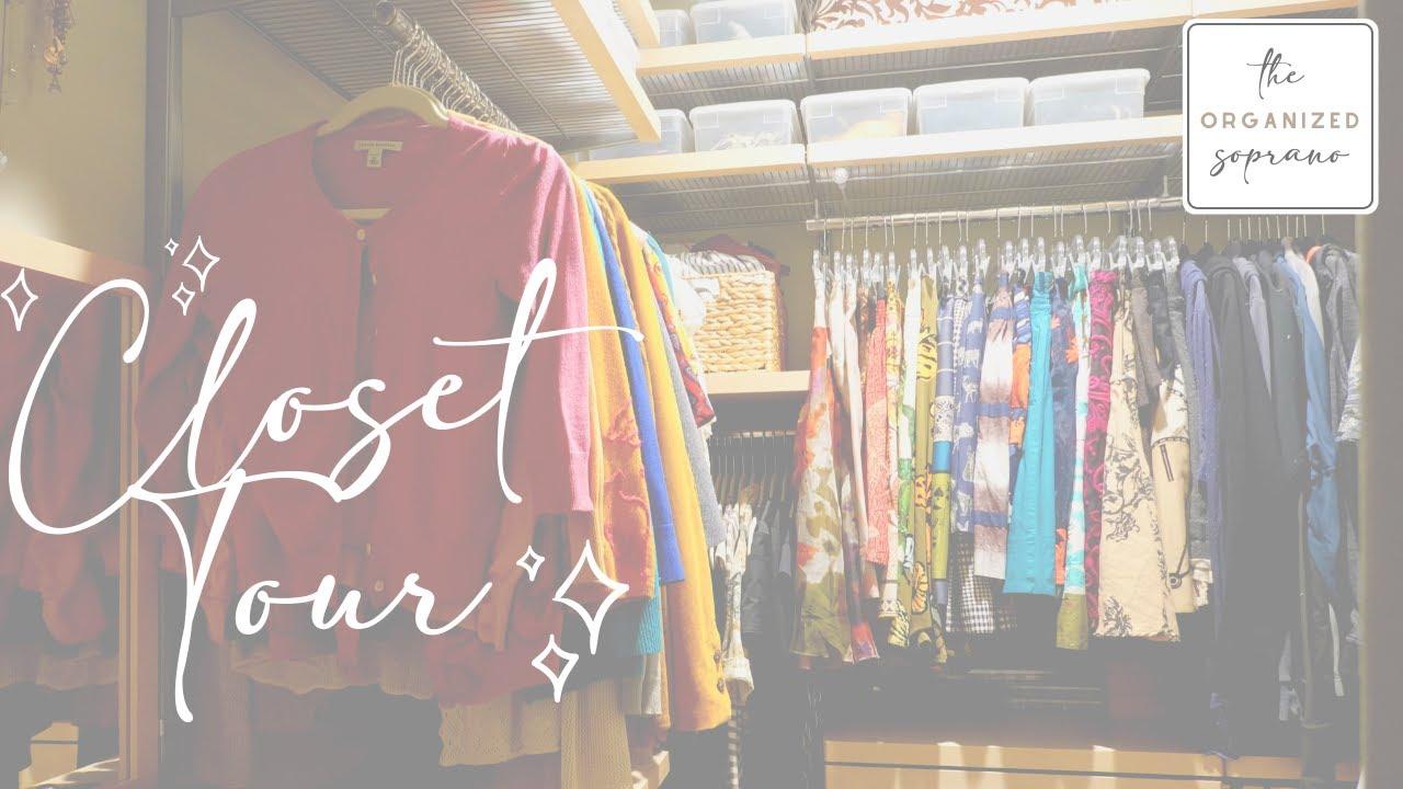 A Pro-Organizer's Closet Tour + Organizing Tips