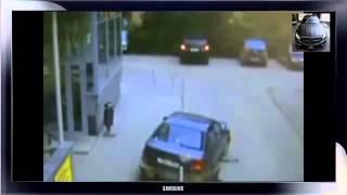 Видео приколы.ДТП, аварии, хамы на дорогах, красивые девушки за рулем