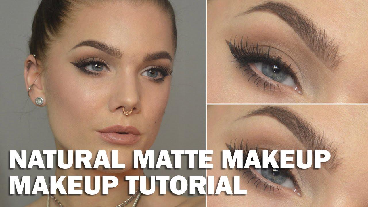 Natural Matte Makeup - Linda Hallberg Makeup Tutorials ...