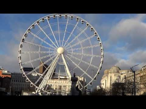 Manchester Wheel At Piccadilly Gardens