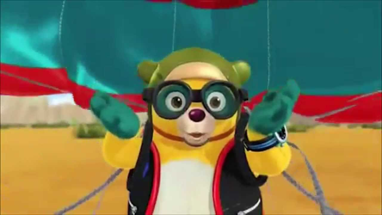Special Agent Oso And His Parachute
