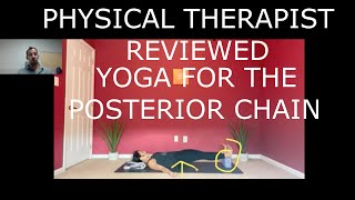 PT Reviewed - Yoga to wake up the Posterior Chain