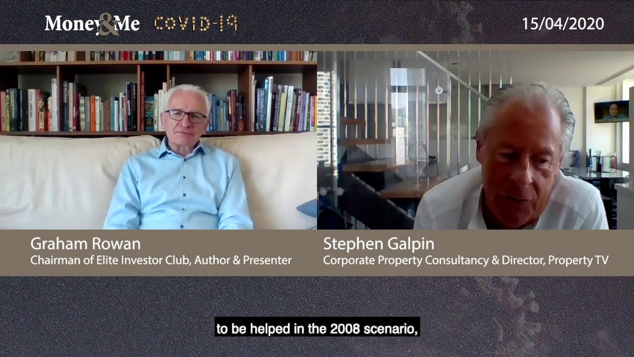 Stephen Galpin, Money & Me COVID-19 Special