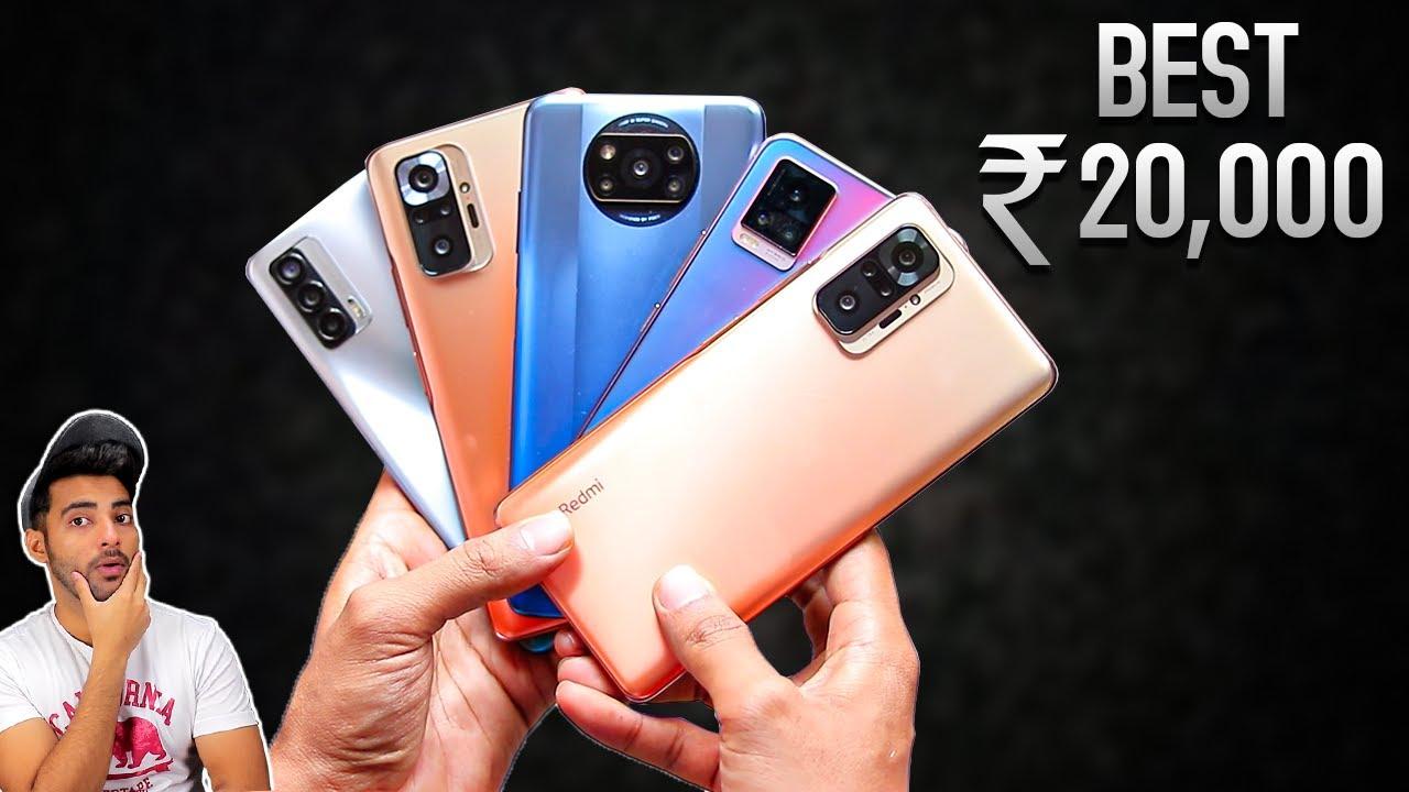 5 Best Smartphone Under Rs20,000 !!