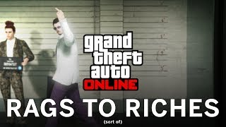 Grand Theft Auto Online: Rags to Riches (sort of) - Stream 5