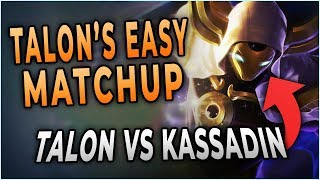 This is Why Kassadin is Talon's Easiest Matchup