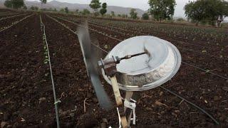 शेतातील पिकांचे जंगली डुकरांपासून होणारे नुकसान टाळण्यासाठी जुगाड यंत्राचा वापर...