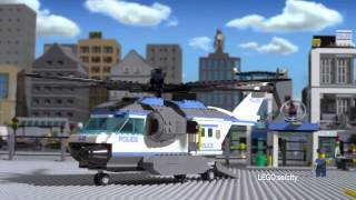 Helikoptertransport 60049 & Polisstation 60047 - Lego City - SE