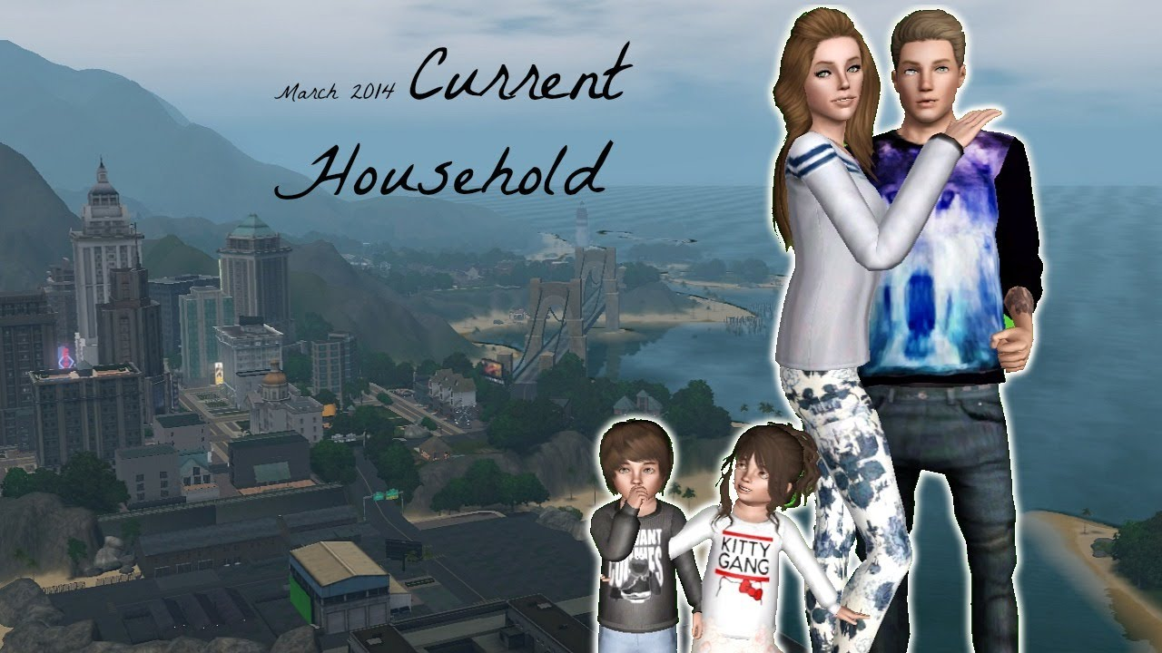 The Sims 3: Current Household | March 2014 | - YouTube
