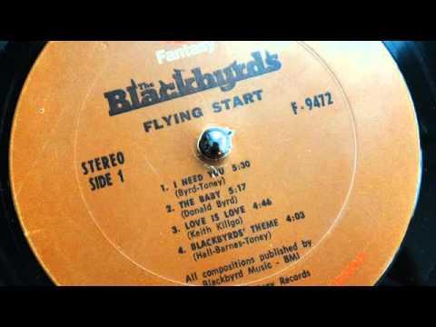 The Blackbyrds - The Baby (lp