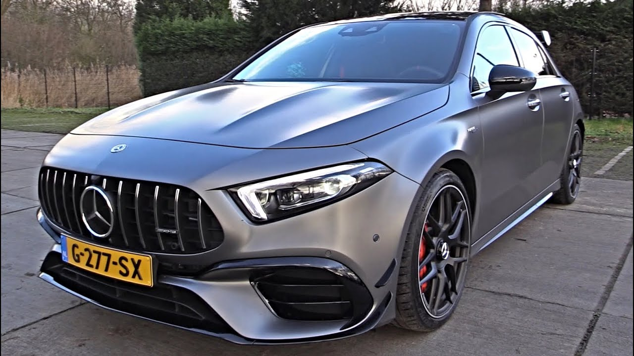 Download 2021 Mercedes AMG A45 S (422Hp) - Sound & Review! Interior Exterior Luxury Top 10