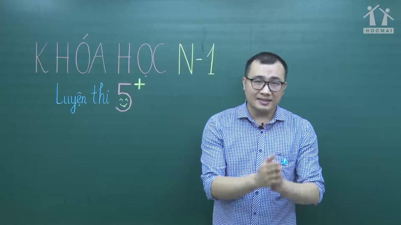 [Luyện thi 5+] Giới thiệu khóa học - Hóa học 12 - Thầy Nguyễn Ngọc Anh