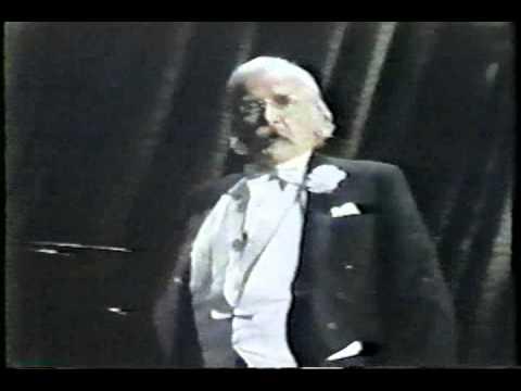 Will Geer  1974 Tony Awards