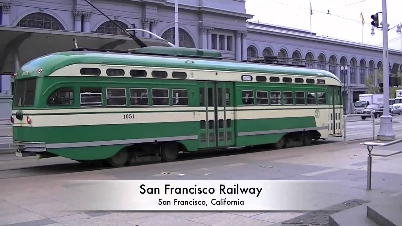 Trolley Car: San Francisco, CA PCC Trolley Cars