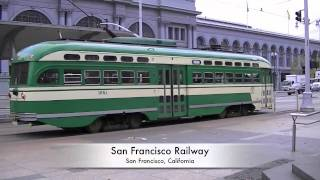 San Francisco, CA PCC Trolley Cars