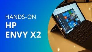 HP revela Envy x2, notebook com Windows 10 S e processador Snapdragon (Hands-on)